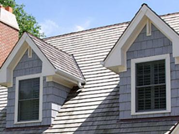 dakkapel met een punten dak