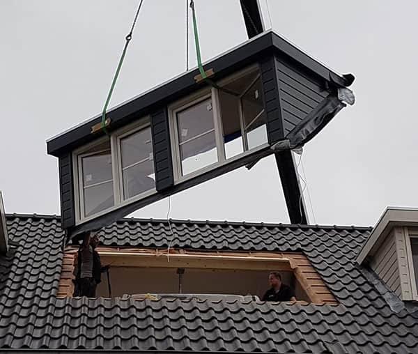dakkapel in 1 dag geplaatst